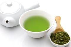 Chá verde de Jananese Imagens de Stock Royalty Free