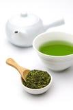 Chá verde de Jananese Fotos de Stock Royalty Free