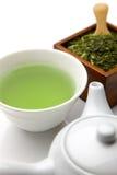 Chá verde de Jananese Imagem de Stock Royalty Free