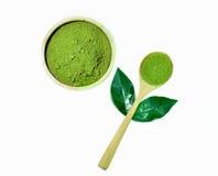 Chá verde de Matcha Fotografia de Stock Royalty Free