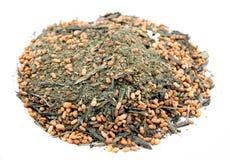 Chá verde do arroz foto de stock royalty free