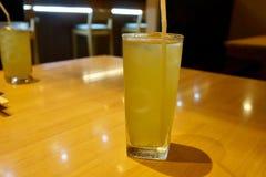 Chá verde do gelo Fotografia de Stock