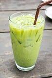 Chá verde do gelo foto de stock