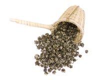 Chá verde do jasmim Foto de Stock Royalty Free