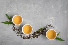 Chá verde do oolong foto de stock royalty free