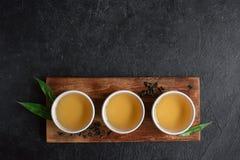 Chá verde do oolong fotos de stock royalty free