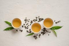 Chá verde do oolong imagens de stock royalty free