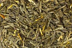 Chá verde orgânico Fotos de Stock