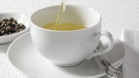 Chá verde quente vídeos de arquivo
