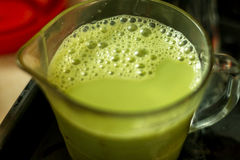 Chá verde quente Imagem de Stock Royalty Free
