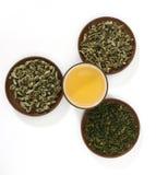 Chás verdes Imagem de Stock