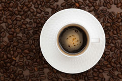 Chávena de café imagens de stock