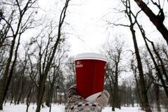 A chávena de café Fotos de Stock Royalty Free