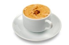 Chávena de café branca Fotos de Stock Royalty Free