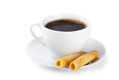 Café e biscoitos imagens de stock royalty free