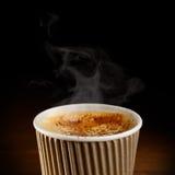 Chávena de café de papel imagem de stock royalty free
