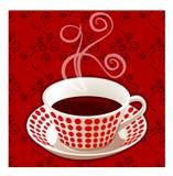 Chávena de café do vetor. Imagem de Stock