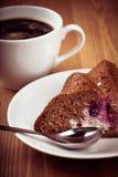 Café e torta fotos de stock royalty free