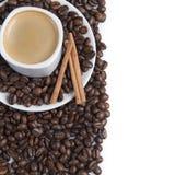 Chávena de café e um espaço da cópia. Imagens de Stock Royalty Free