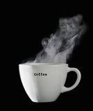 Chávena de café fresca imagem de stock