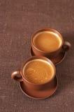 Chávenas de café Foto de Stock