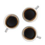 Chávenas de café Imagem de Stock Royalty Free