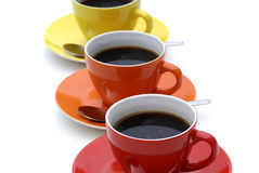 Chávenas de café. Imagens de Stock