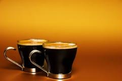 Chávenas de café Fotos de Stock Royalty Free
