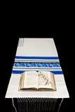 Châle de prière juif, prière BO Photos stock