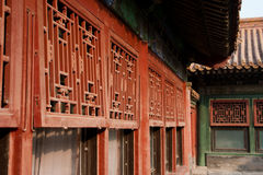 Châssis de fenêtre en bois Image libre de droits