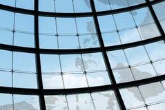 Châssis de fenêtre en verre de sphère photographie stock libre de droits