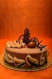 châtaigne de gâteau Photos stock