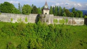 Château à C.A. de ¾ d'OstroÅ Image stock
