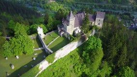 Château à C.A. de ¾ d'OstroÅ Photo stock