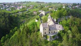 Château à C.A. de ¾ d'OstroÅ Photos stock