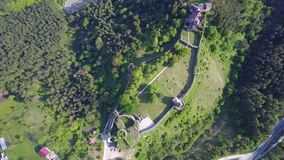 Château à C.A. de ¾ d'OstroÅ Photographie stock libre de droits