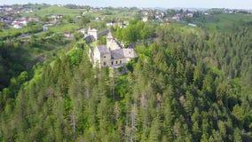 Château à C.A. de ¾ d'OstroÅ Image libre de droits