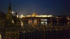Château à Prague Photos stock
