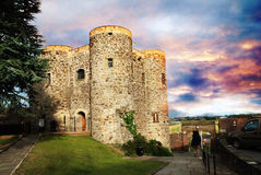 Château à Rye photos stock