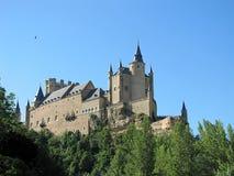 Château à Segovia Image libre de droits