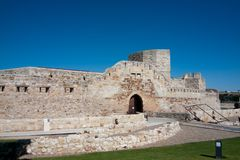 Château à Zamora Photos stock