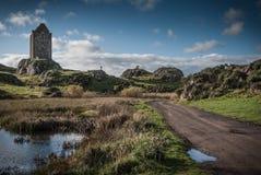Château écossais Images libres de droits