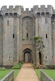 Château anglais en Angleterre, Grande-Bretagne Photo stock