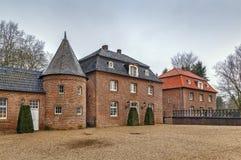 Château Anholt, Allemagne de l'eau image libre de droits