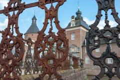 Château Anholt, palais de l'eau en Allemagne photographie stock libre de droits