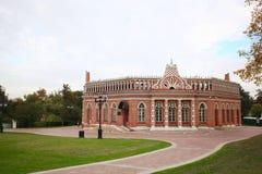 Château antique de brique photo libre de droits