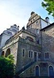 Château antique de pierre de carrière Image stock