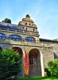 Château antique de pierre de carrière Photographie stock libre de droits
