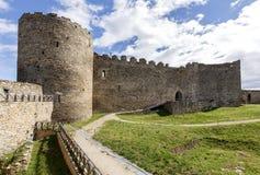 Château antique de Ponferrada L'Espagne, le Bierzo Image stock