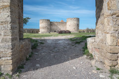 Château antique en été Photos libres de droits